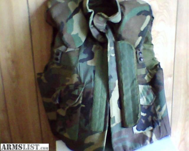 Flak Jacket For Sale | Surplus German Flak Vest Body Armor at